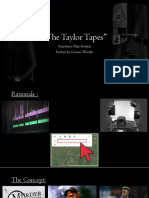 documentsthe taylor tapes