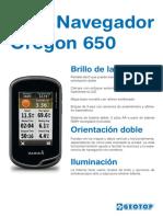Brochure Gps Oregon 650