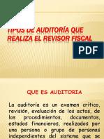 Tipos de Auditoría Que Realiza El Revisor Fiscal