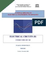 Eec 249 Electric Circuit 2 Theory Unesco