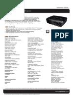 Optoma ES526L Datasheet