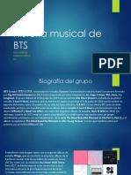 Historia Musical de Bts