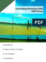 Goal Setting Workshop 2008 09052008final