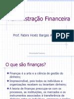Administração Financeira Aula.1
