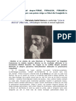 Cu Părintele Rafail Despre Forme, Formalism, Formare in Rugăciune