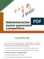Administración en El Nuevo Panorama Competitivo- Introduccion