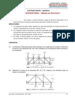 ACTIVIDAD GRUPAL_SESIÓN 07_Análisis Estructural - Método de Secciones