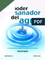 El Poder Sanador Del Agua