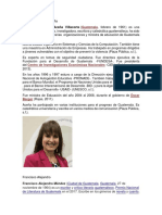 Biografias de Maria Aceño