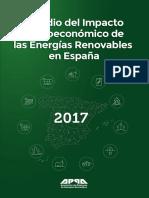 Estudio Del Impacto Macroeconomico de Las Energias Renovables en España 2017