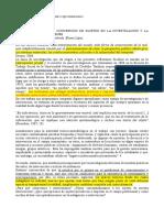 """La Implicancia de La Concepción de Sujetos en La Investigación y La Intervención Con Jóvenes"""". en, Villa, A; Infantino, J y Castro, G. Nicas y Prácticas"""