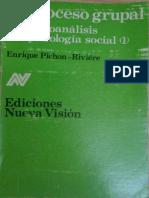 El proceso grupal [Enrique Pichon-Rivière].pdf