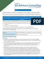 PAC (PrescQipp)Bazedoxifene Plus Conjugated Oestrogens Duavive