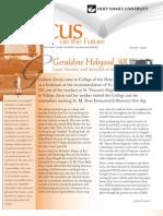 HNU Focus on the Future FALL 2010