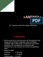 anemias UNIJJAR
