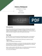 webquest-history
