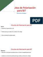 6. Circuitos de Polarizacion Para BJT