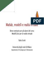 Lezione Matlab