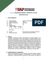 SILABO DE  NEUROPSICOLOGIA