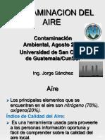 Contaminacion Atmosferica, 2018