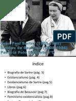 Sartre y Beauvoir-Patricia Polo-5D