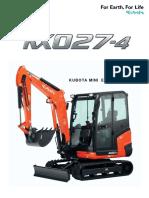 Kubota KX027 4