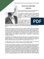 Enrico Ferri Resumen