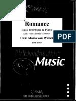 Romance para trombon bajo