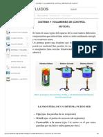 Sistema y Volumenes de Control _ Mecanica de Fluidos