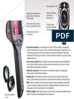 Caracteristicas Camara Termografica Flir e60