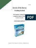 Darvas Trading System Secrets