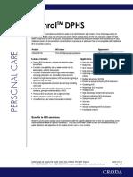 Cithrol Dphs - Dc171 Word