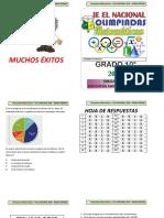 Cuadernillo de Olimpiadas Matematicas 2018