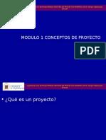 MIN620 PPT 1 Concepto de Proyecto