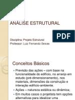 Aula 4 -Análise Estrutural