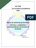 Elementos y clasificaciones de un sistema de potencia