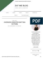 OVERSIZED SWEATER KNITTING PATTERN _ EAT ME BLOG.pdf
