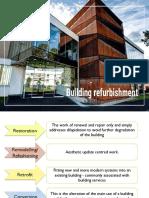 Building Refurbishment