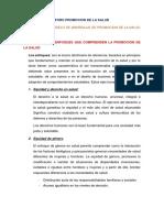 Shamira Ttito -Enfoques Del Modelo de Abordaje de Promocion de La Salud