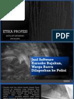 PPT Pembajakan Software