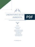 Laboratorio de Quimica Ambiental