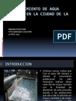 Abastecimiento de Agua Potable en La Ciudad De