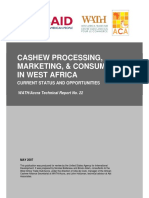 West Africa report of cashew