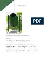 Tachos de Basura11111