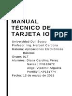 MANUAL TECNICO Diana Navas y Angel Argueta
