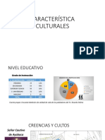 características culturales PJ RICARDO PALMA