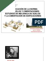 Aplicacion de La Norma E.050 Estudios de Mecanica de Suelo y La Cimentacion de Edificaciones-convertido [Autoguardado]