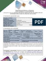Guía Para El Uso de Recursos Educativos - Exploración de Una Página Web Interactiva Sobre Derechos de Los Niños