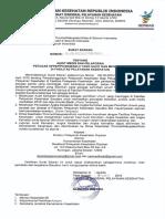 Surat Edaran Ttg Audit Medis Dan Pelaporan Petugas KPPS Yg Sakit Dan Meninggal Di Fasyankes