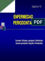 Capitulo 9.- Enfermedad Periodontal